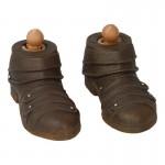 Chaussures de Viking renforcées (Marron)