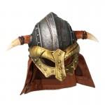 Diecast Viking Bull Helmet (Grey)