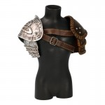 Epaulettes de Viking en métal (Gris)