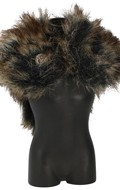 Fur Viking Amice (Grey)