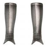 Diecast Kingsguard Knight Leg Armors (Silver)