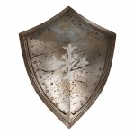 Worn Knight Shield (Silver)