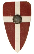 Wooden Knight Shield (Red)