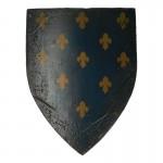 Bouclier de Chevalier Spirituel aspect usé (Bleu)