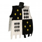 Velvet General Guard Tunic with Crests (Black)