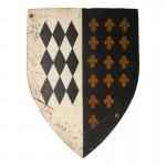 Worn General Guard Shield (Black)