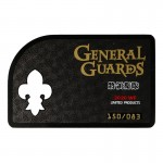 Lifesize Diecast General Guards Authenticity Certificate Card (Black)