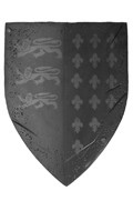 Heavy Armored Guard Knight Shield (Black)