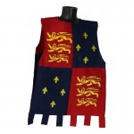 Knight Tunic with Crests (Blue)