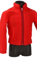 Polar Fleece Jacket (Red)