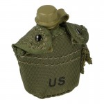 1-QT Canteen with Pouch (Olive Drab)