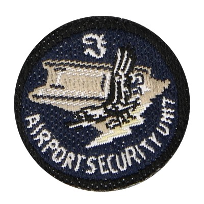 Patch Airport Security Unit (Bleu)