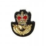 RAF Below Group Captain Officer Insignia (Gold)