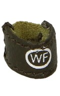 Leather WF Wristband (Olive Drab)