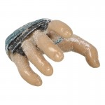 Frozen Caucasian Male Right Hand with Protections
