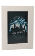 Lifesize I'D Rather Stay At Hogwarts This Christmas Photo Frame (White)