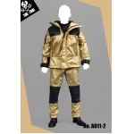 Technical Jacket Suit Set (Gold)