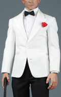 Royal Agent Suit Set (White)
