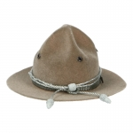 Chapeau Md 17 en velours (Coyote)