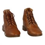 Leather M1904 Russet Service Shoes (Brown)