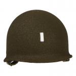 Casque M1 Lieutenant en métal (Olive Drab)