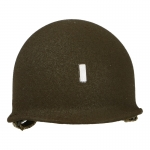 Diecast Lieutenant M1 Helmet (Olive Drab)