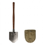 Diecast M43 Folding Shovel with Cover (Grey)