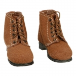 Suede Boondocker Boots (Brown)