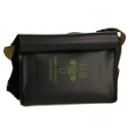M5 Gas Mask Leather M7 Waterproof Bag (Black)