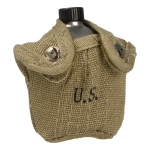 M10 Canteen with Pouch (Beige)