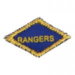 Rangers Diamond Shoulder Patch (Blue)