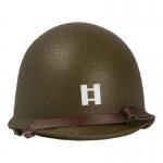Diecast M1 2nd Ranger Captain Helmet (Olive Drab)