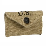 Worn M42 First Aid Pouch (Beige)