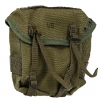 Worn M56 Buttpack (Olive Drab)