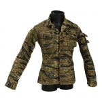 Combat Jacket (Golden Tiger Stripes)