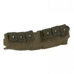 Bandoulière cartouches grenades 40mm aspect usé (Olive Drab)
