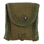 Worn M67 Compass Pouch (Olive Drab)