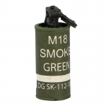 Grenade fumigène M18 vert (Olive Drab)