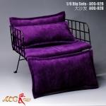 Grand fauteuil (Violet)