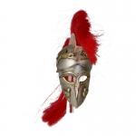 Greek Hoplite Corinthian Helmet (Silver)