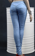 Women's Tight Denim Jeans (Blue)