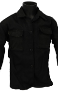 Worn BDU Shirt (Black)