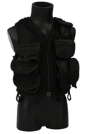 Worn Omega EOD Vest (Black)