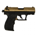 Walther P22 Pistol (Gold)