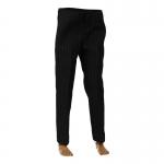 Pantalon de costume à rayures (Noir)