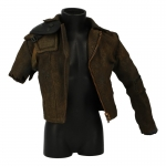 Worn Jacket (Brown)