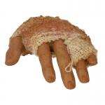 Main gauche flexible homme européen avec bandage