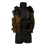 Worn Tactical Vest (Coyote)