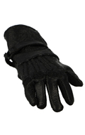 Leather Gloved Flexible Right Hand (Black)