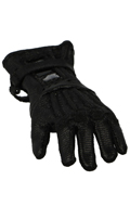Leather Gloved Flexible Left Hand (Black)